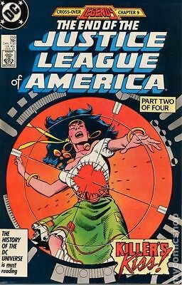 Justice League of America (1st Series) #259 1987 VF Stock Image