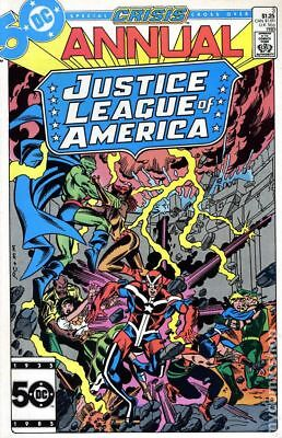 Justice League of America (1st Series) Annual #3 1985 VF Stock Image