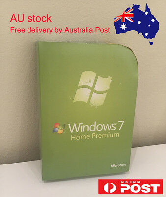 Microsoft Windows 7 home premium 32 & 64 bit with DVD Sealed Packing