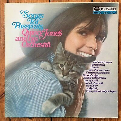 Quincy Jones And His Orchestra – Songs For Pussycats (Mercury) *Top Zustand*