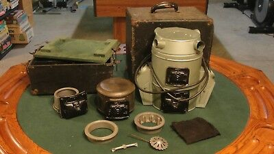 Vintage Holland Salesmans Sample Furnace Stove Cast Iron 250A & Accessories