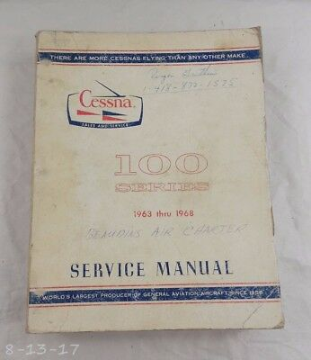 1963 -1968 Cessna 100 Series Service Manual Catalog