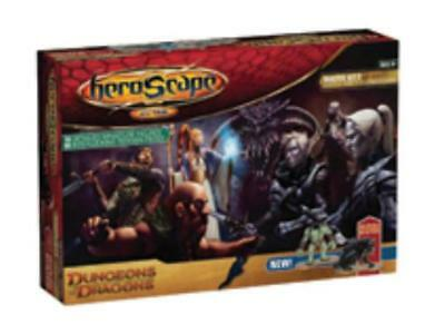 WOTC HeroScape Master Set #3 - Dungeons & Dragons, Battle for the Underd Box VG