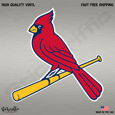 St. Louis Cardinals MLB Baseball Full Color Sports Decal Sticker-FREE SHIPPING