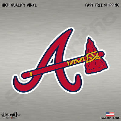 Atlanta Braves MLB Baseball Full Color Sports Decal Sticker-FREE SHIPPING
