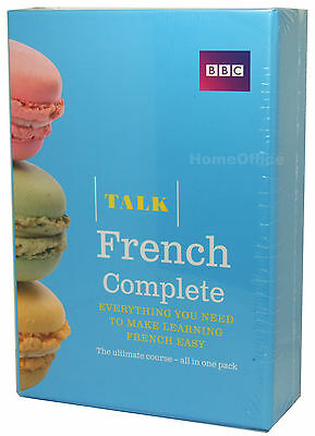 BBC Learn Talk French Complete - 4 CD-Audio, 2 Course Books Plus Grammar Guide