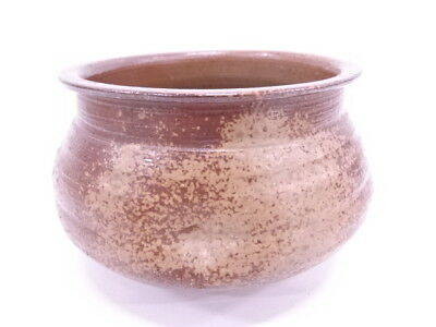 3446631: Japanese Tea Ceremony Bizen Ware Slop Basin By Toho Kimura / Kensui