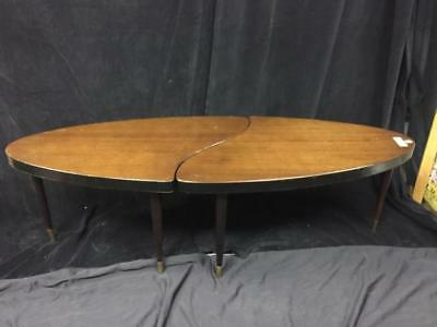 Pair of mid-century jig-saw fit coffee tables Lot 172
