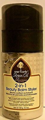 One 'n Only ® Argan Oil 2-In-1 Beauty Balm Styler 4.oz Made In Usa