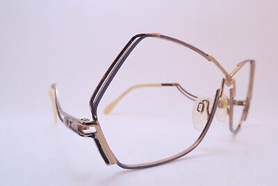 Vintage 80s Cazal eyeglasses frames purple Mod 226 61-12 made in Germany