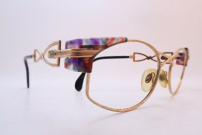 Vintage 80s Cazal eyeglasses frames Mod 253 size 54-18 made in Germany
