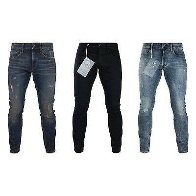 G-Star Jeans - G-Star 3301 Deconstructed Skinny Fit Jeans - Various Colours