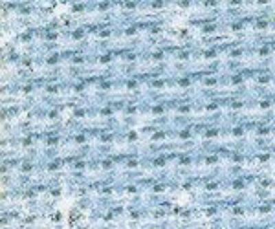 DMC 14ct Blue Iridescent Aida for cross stitch -55 x 25cms