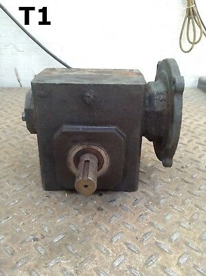 """Dodge 40:1 Gear Drive/Speed Reducer w/ 5/8"""" Input and 1"""" Output Shaft"""