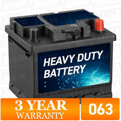 WW063 Car Battery 063 12V 41Ah 390A L:208mm H:176mm W:173mm Replacement