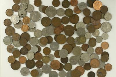 Vintage WORLD Coin Lot Mixed Dates & Monarchs Great Britain England 1937-Present
