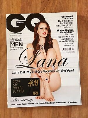 Lana Del Rey GQ Magazine October 2012 15th Annual Men Of The Year Edition