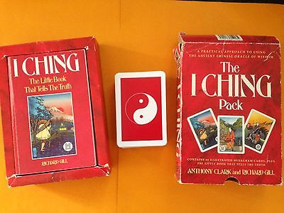 Vintage: The I Ching Pack~Book and Cards~ by Anthony Clark & Richard Gill,Iching