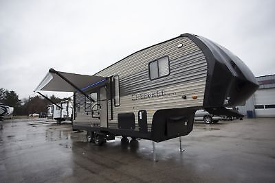 2018 Forest River Cherokee 255RR 5th Wheel Toy Hauler Camper