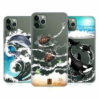 HEAD CASE DESIGNS SEA ANIMALS SOFT GEL CASE FOR APPLE iPHONE PHONES