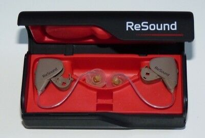 GN Resound Alera 4 Channel Digital Hearing Aid with Remote and TV Sound Streamer