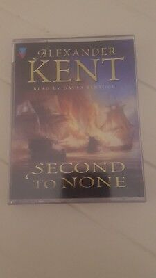 ALEXANDER KENT second to none audio 2 cassette tape 3 hours new old stock rare