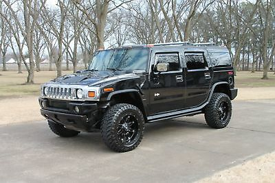 2005 Hummer H2 SUV   Perfect Carfax Perfect Carfax Great Service and Maintenance History New Tires and Custom Wheels