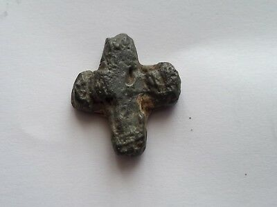 Medieval-Byzantine  lead cross.