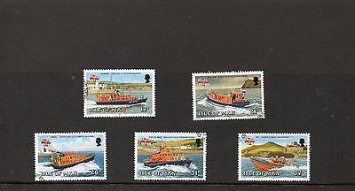 Sg 469-73 Isle Of Man Manx Lifeboats Very  Fine Used Set