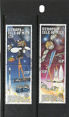 Sg 474-7 Isle Of Man Europa Space Very  Fine Used Set