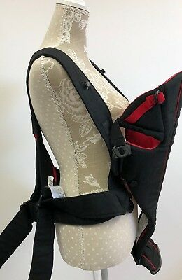 BabyBjörn Red and Black Baby Sling Carrier Active Up to 12kg