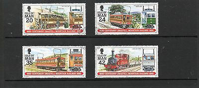 Sg 634-7 Isle Of Man Snaefell Mountain Railway Very  Fine Used Set