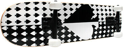 PRO Style Complete Skateboard Ace of Spade 7.75 Free SH
