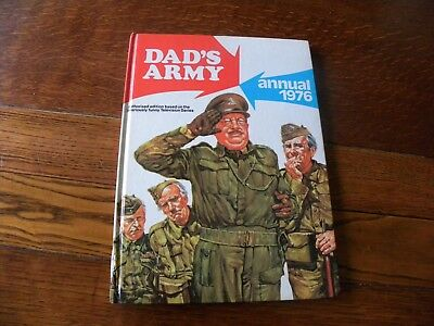 Dads Army Annual 1976 Based On The T.v Series In Very Good Condition