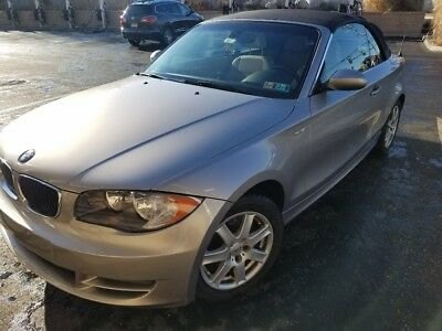 2008 BMW 1-Series  2008 BMW 128i convertible - includes second set of mounted tires