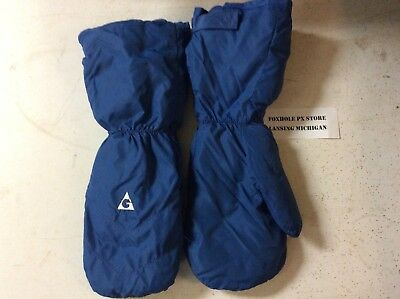 Vintage 1970's-1980's GERRY DOWN SKI MITTENS Gloves Large