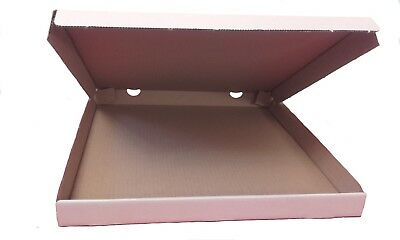 Plain White Strong Quality Pizza-Takeaway-Postal Boxes -12 and 20 inch