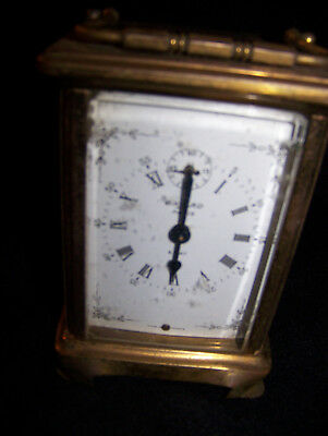 antique clock made in france small desk