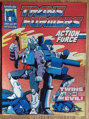 Transformers UK Comic Issue 202