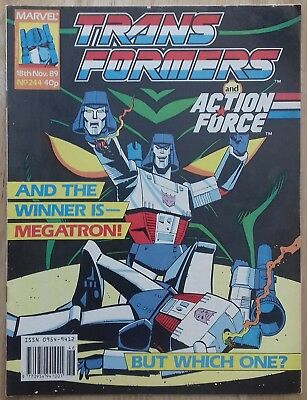 Transformers UK Comic Issue 244