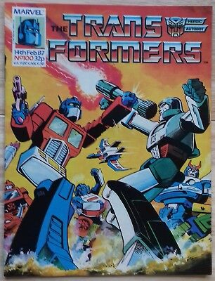Transformers UK Comic Issue 100 with Wrap Around Cover Poster