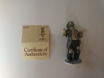 """'EMMETT KELLY, JR' - #10006 - """"THE BALANCING ACT""""- by FLAMBRO- w/signed initials"""