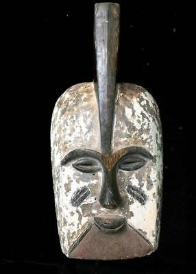 Beautiful  Tribal Ibiobio  Mask     --  Nigeria
