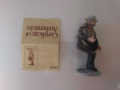 """'EMMETT KELLY, JR'- #10007 - """"A HOLE IN THE SOLE""""- by FLAMBRO- w/signed initials"""