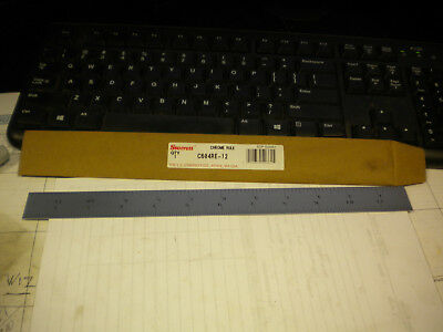 Starrett C604Re-12 Spring Temp Steel Rule W/Inch Grads 4R Style