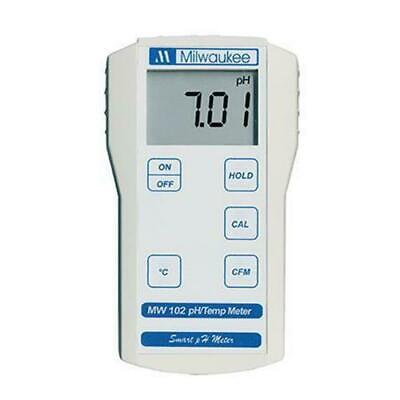 Mw102 Ph & Temperature Meter W/auto Calc