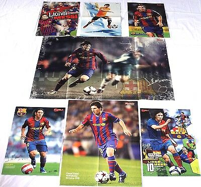 7 LIONEL MESSI - Poster !!! rare XL Fan collection Sammlung FC BARCELONA BARCA