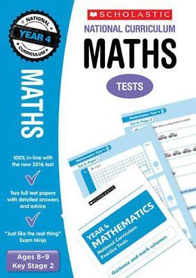 Maths Test - Year 4 (National Curriculum Tests) by Paul Hollin | Paperback Book