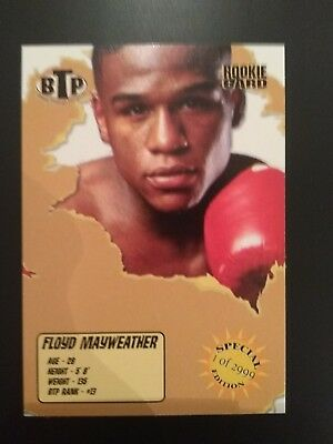 2005 BTP Break Through Prospects Floyd Mayweather Jr. 1/2999 Rookie Card