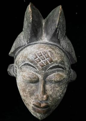 Old Tribal Punu Okuyi  Mask     --  Gabon